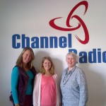 Angela, Emily Curson-Baker and Jan from May 12th 2014 Who Cares Wins Radio Show